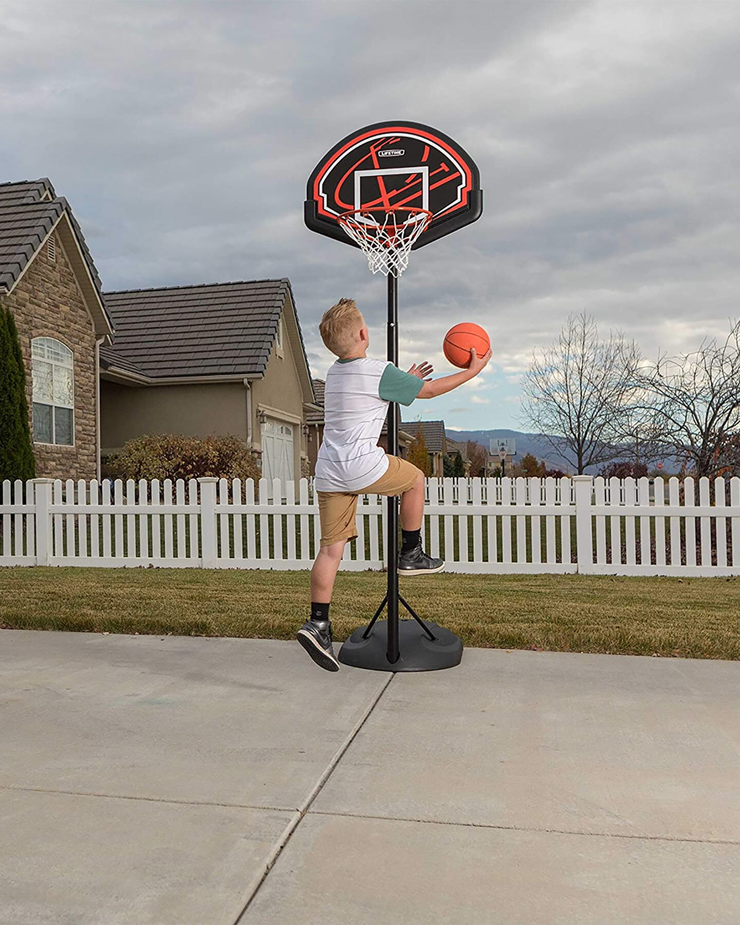 Attrezzatura basket LIFETIME IMPIANTO BASKET JR S2000549|896|- scatto 3