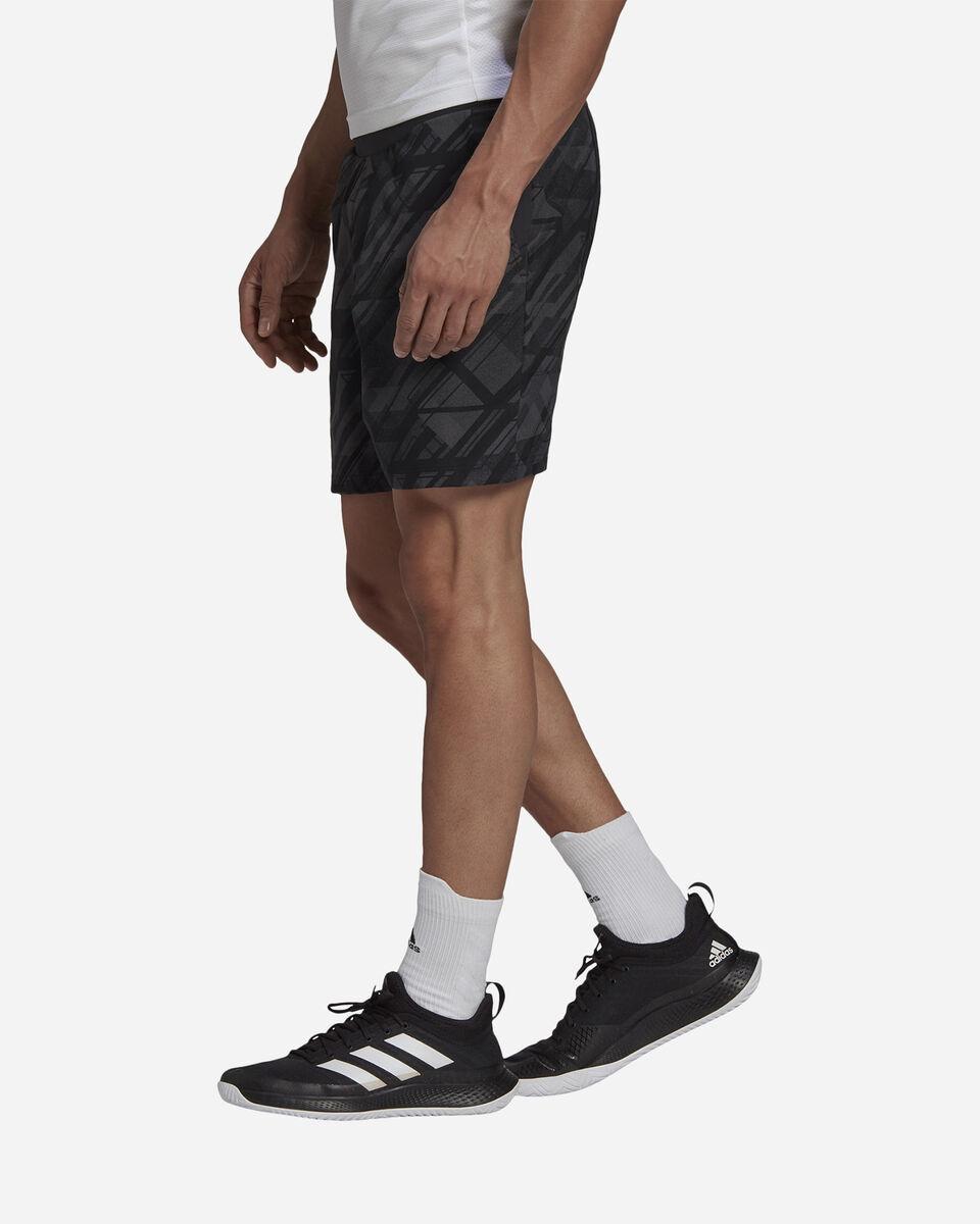 Pantaloncini tennis ADIDAS ERGO PRINTED AEROREADY M S5212238 scatto 3