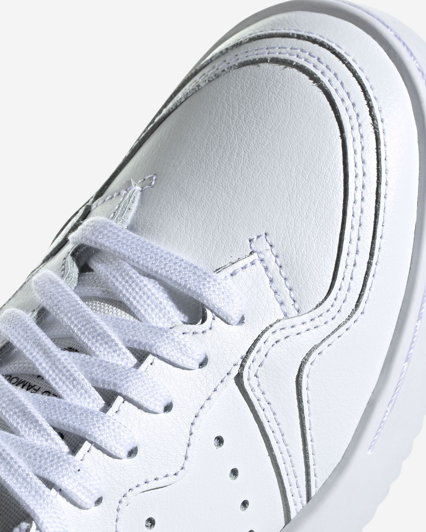 Scarpe sneakers ADIDAS SUPERCOURT GS JR S5069274 scatto 5