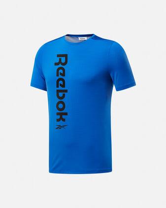 T-Shirt training REEBOK WORKOUT READY ACTIVCHILL M