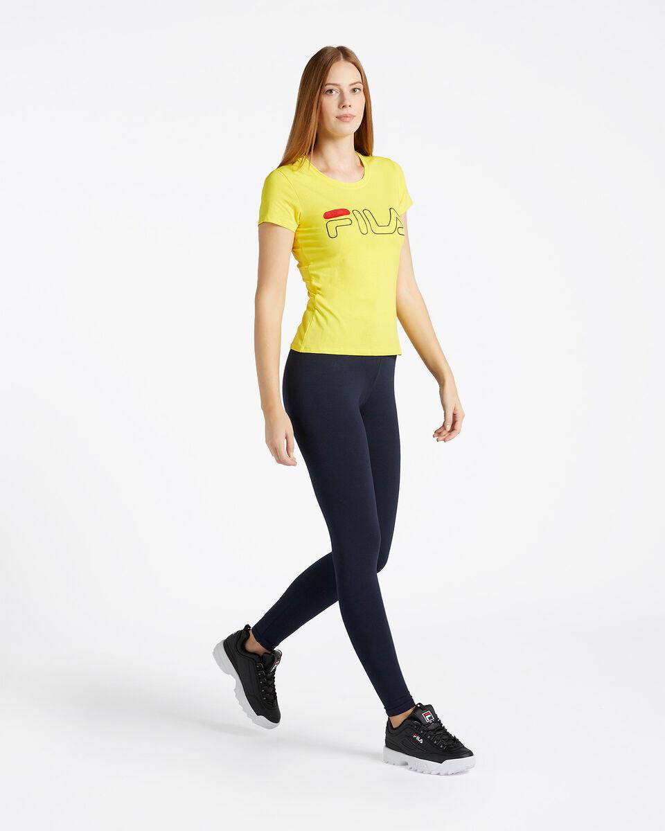 T-Shirt FILA LOGO W S4067235 scatto 3