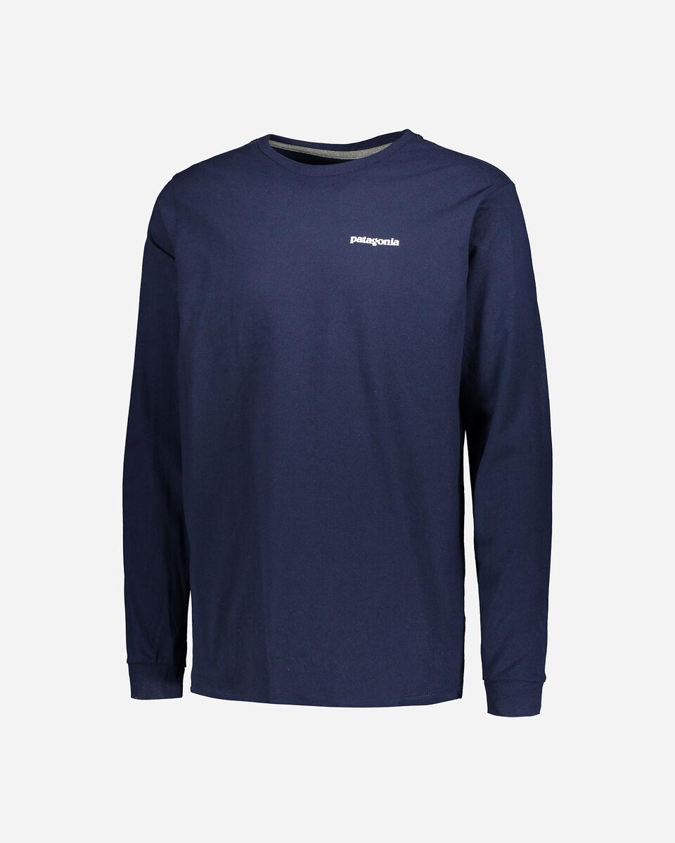 T-Shirt PATAGONIA P-6 LOGO RESP. M S4081428 scatto 0