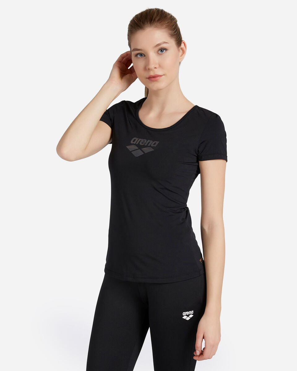 T-Shirt training ARENA CARRE' RETRO MESH W S4087237 scatto 0