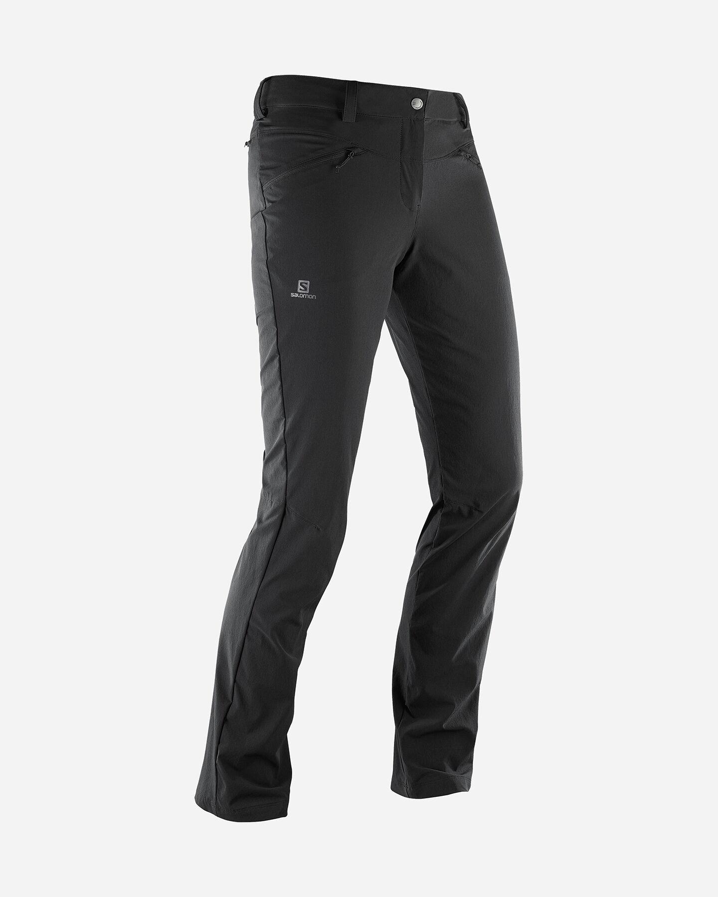 Pantalone outdoor SALOMON WAYFARER STRAIGHT  W S5047681 scatto 1