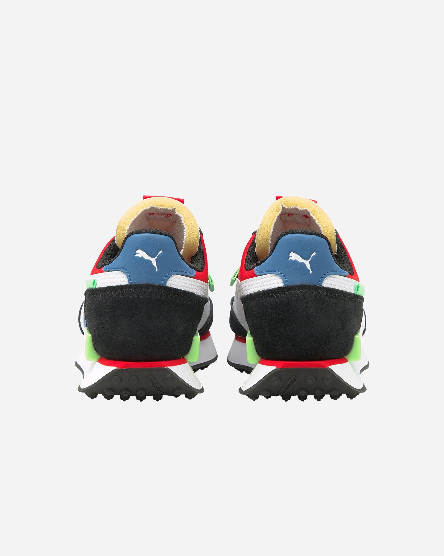 Scarpe sneakers PUMA FUTURE RIDER PLAY ON GS JR S5283249 scatto 4