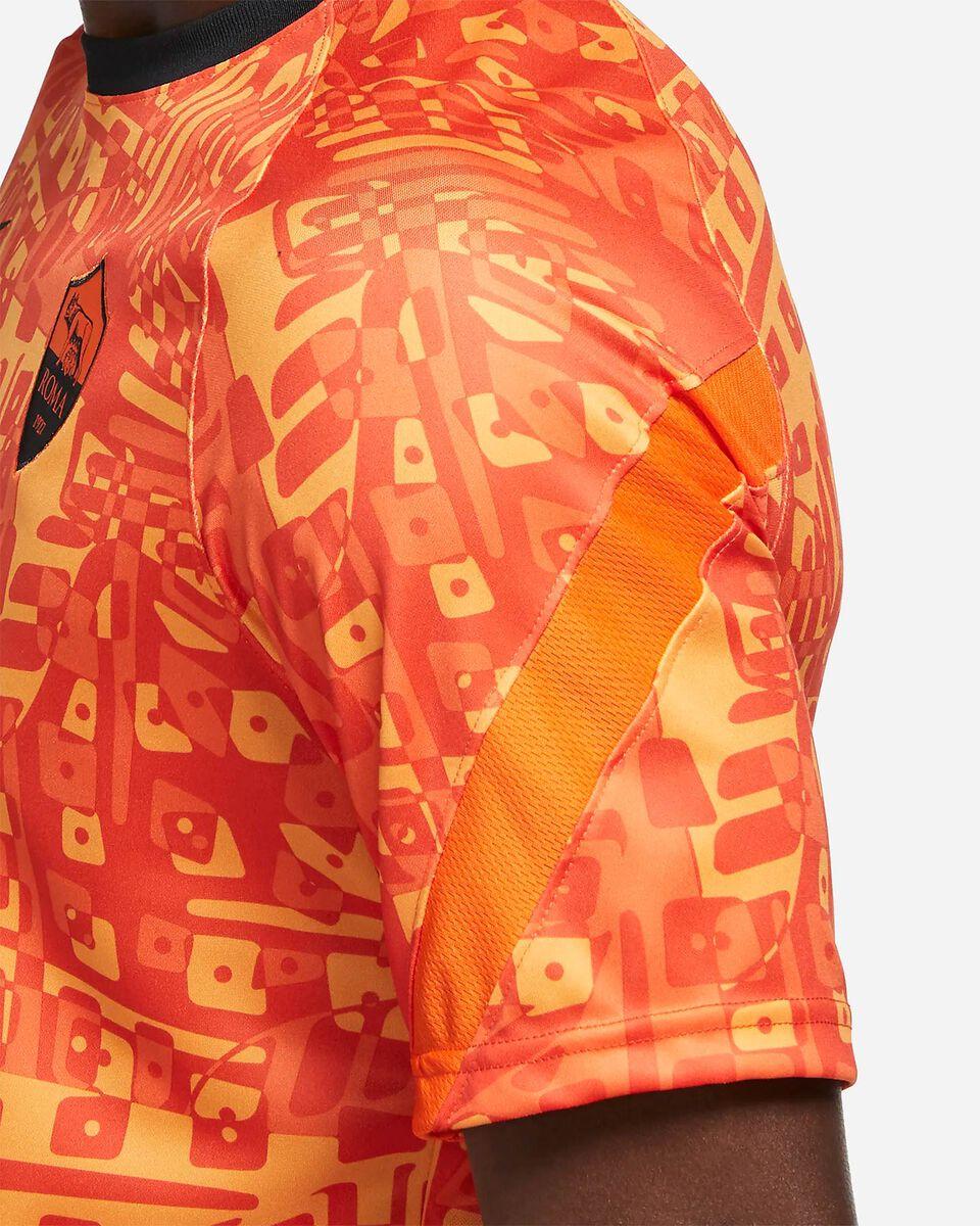 Abbigliamento calcio NIKE ROMA PRE-MATCH 20-21 M S5225152 scatto 3