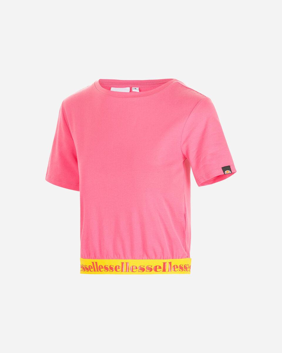 T-Shirt ELLESSE CROP ELASTIC W S4087993 scatto 5