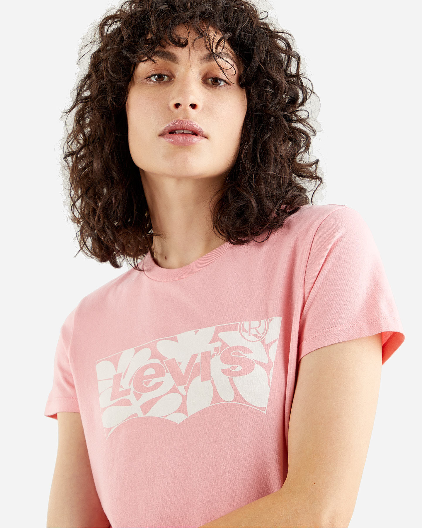 T-Shirt LEVI'S LOGO BATWING ST LEAF W S4088772 scatto 3