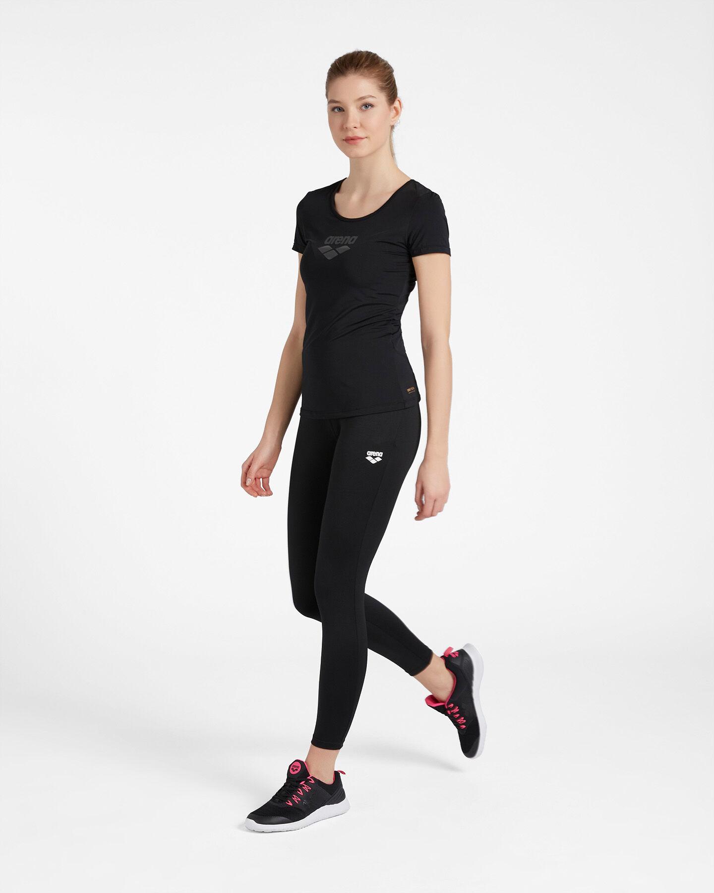 T-Shirt training ARENA CARRE' RETRO MESH W S4087237 scatto 3