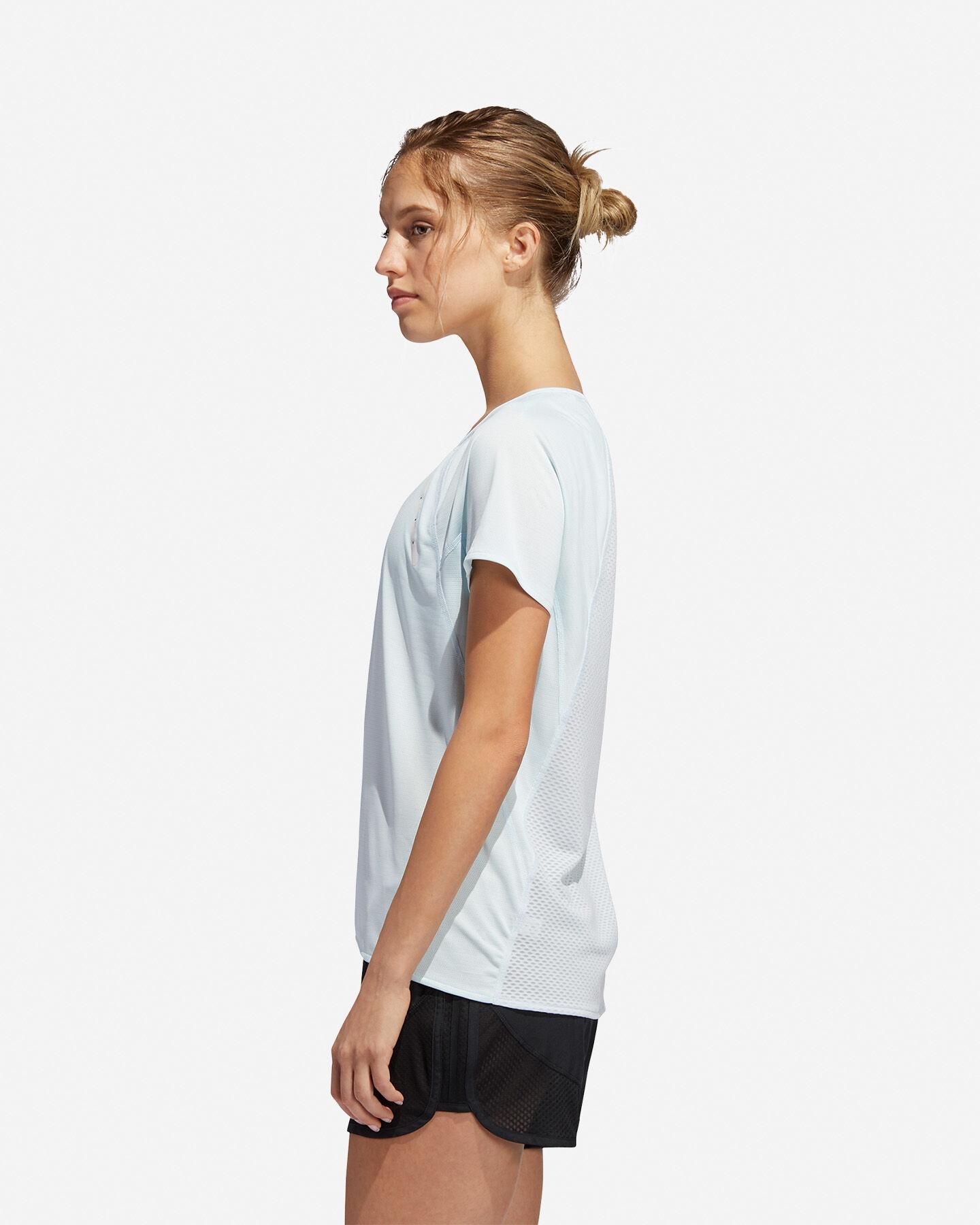 T-Shirt running ADIDAS HEAT.RDY W S5154889 scatto 3