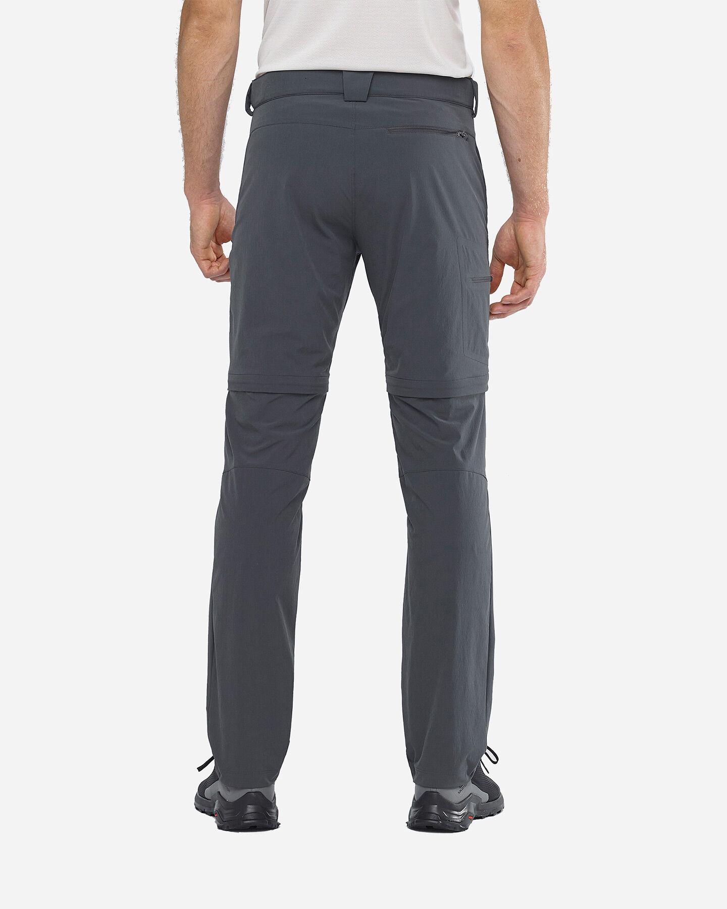 Pantalone outdoor SALOMON WAYFARER ZIP M S5173951 scatto 4