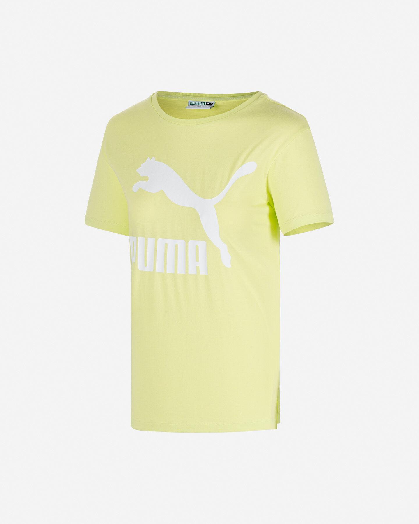 T-Shirt PUMA LOGO W S5189648 scatto 0