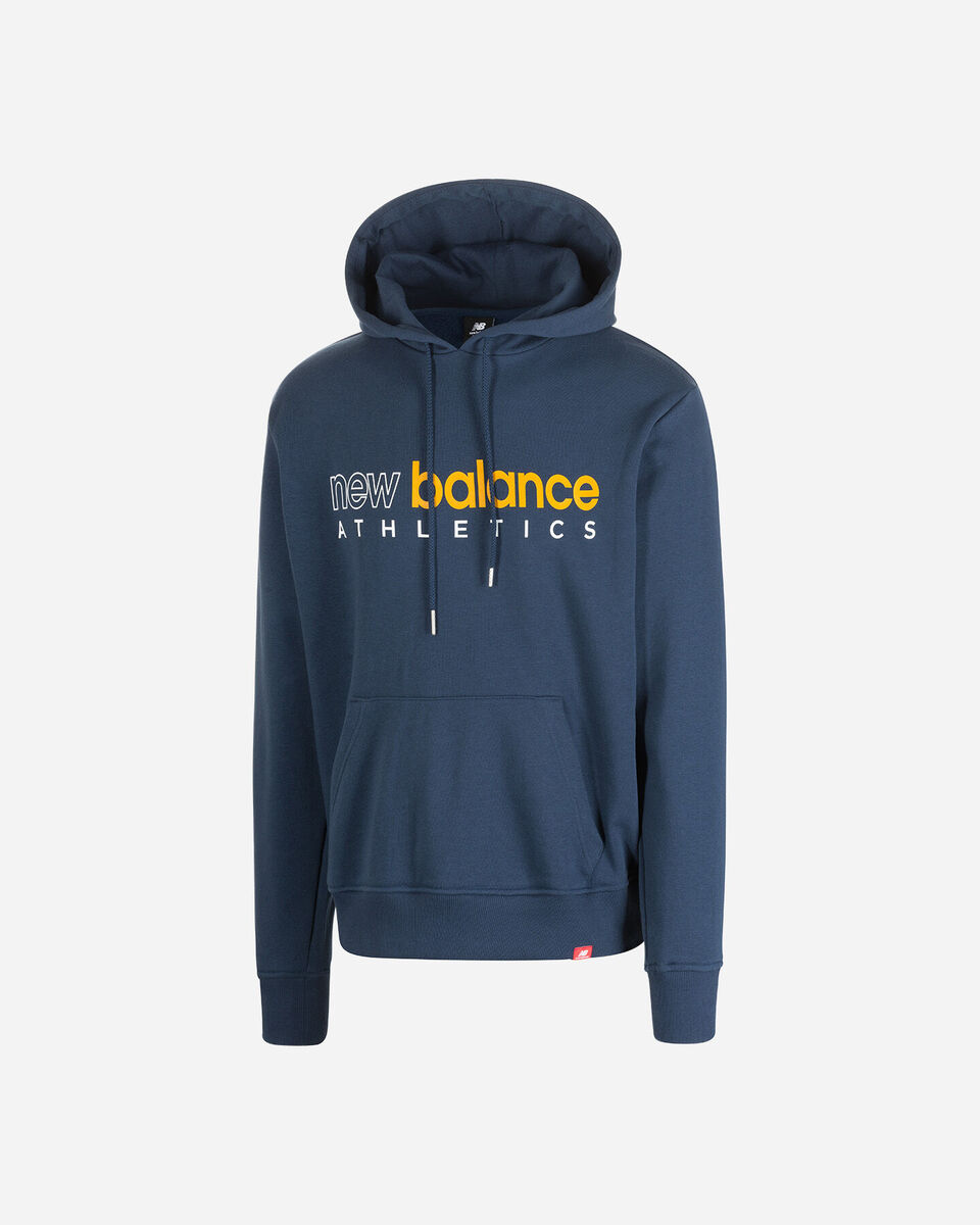 Felpa NEW BALANCE ICON HOODIE M S5166320 scatto 5