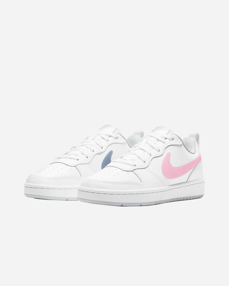 Scarpe sneakers NIKE COURT BOROUGH LOW 2 GS JR S5268507 scatto 1
