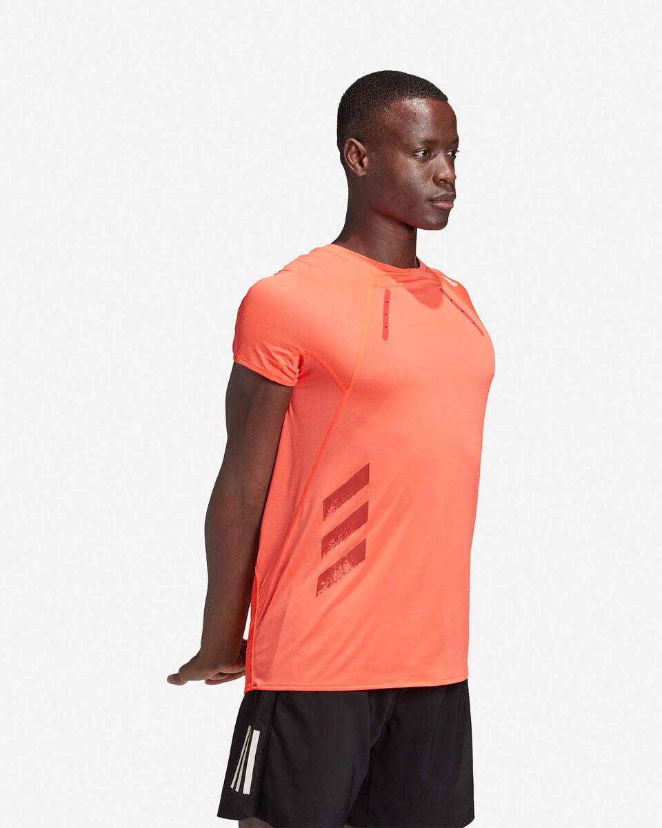 T-Shirt running ADIDAS HEAT.RDY M S5154890 scatto 3