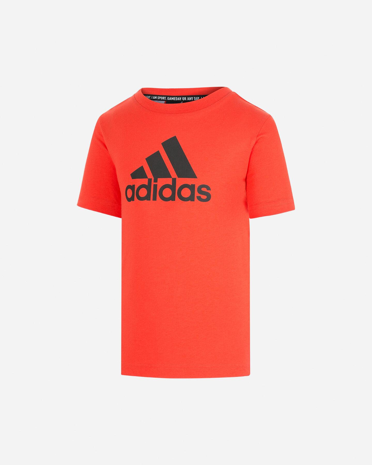 T-Shirt ADIDAS BIG LOGO JR S5211708 scatto 0