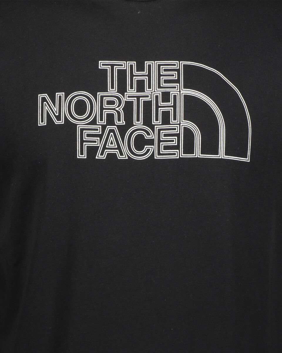 T-Shirt THE NORTH FACE LIFESTYLE LOGO M S5245436 scatto 2