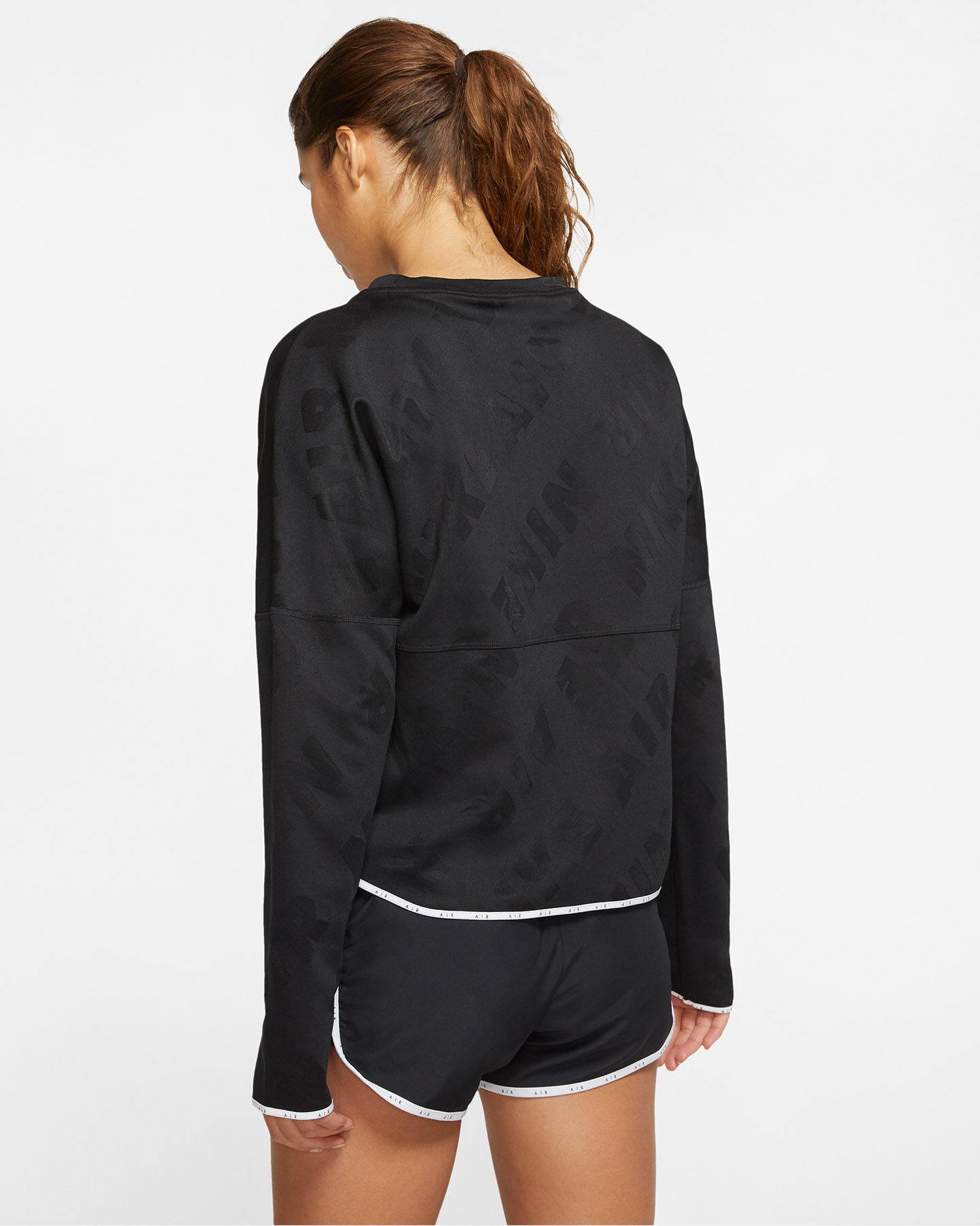 Maglia running NIKE AIR MIDLAYER W S5163970 scatto 3