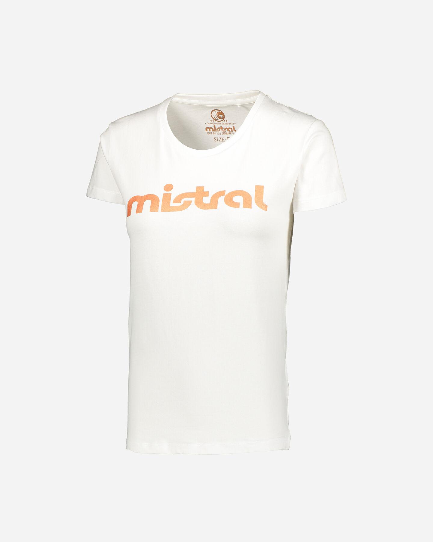 T-Shirt MISTRAL LOGO WRITTEN W S4087795 scatto 0