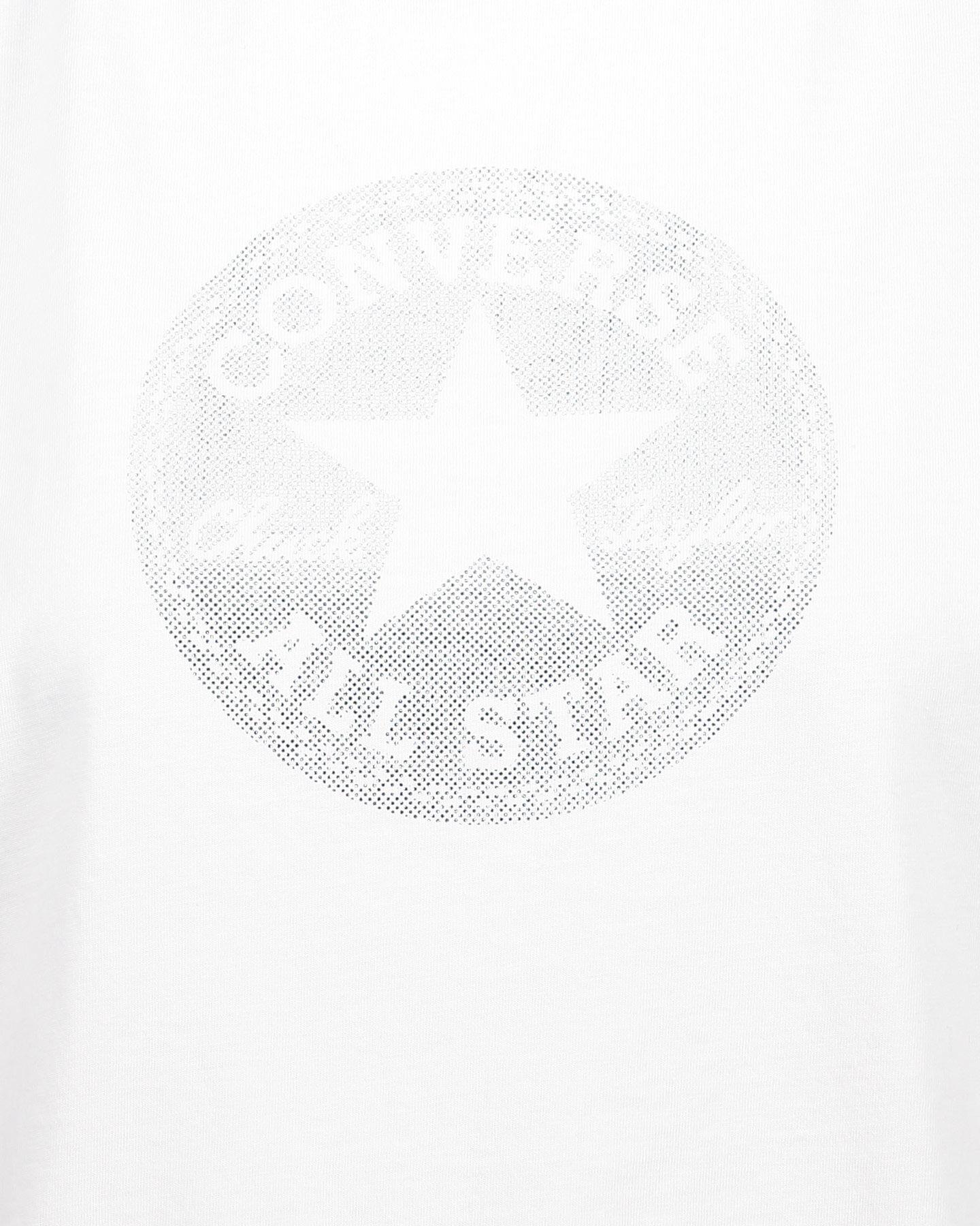 T-Shirt CONVERSE CROP CHUCK W S4068845 scatto 2