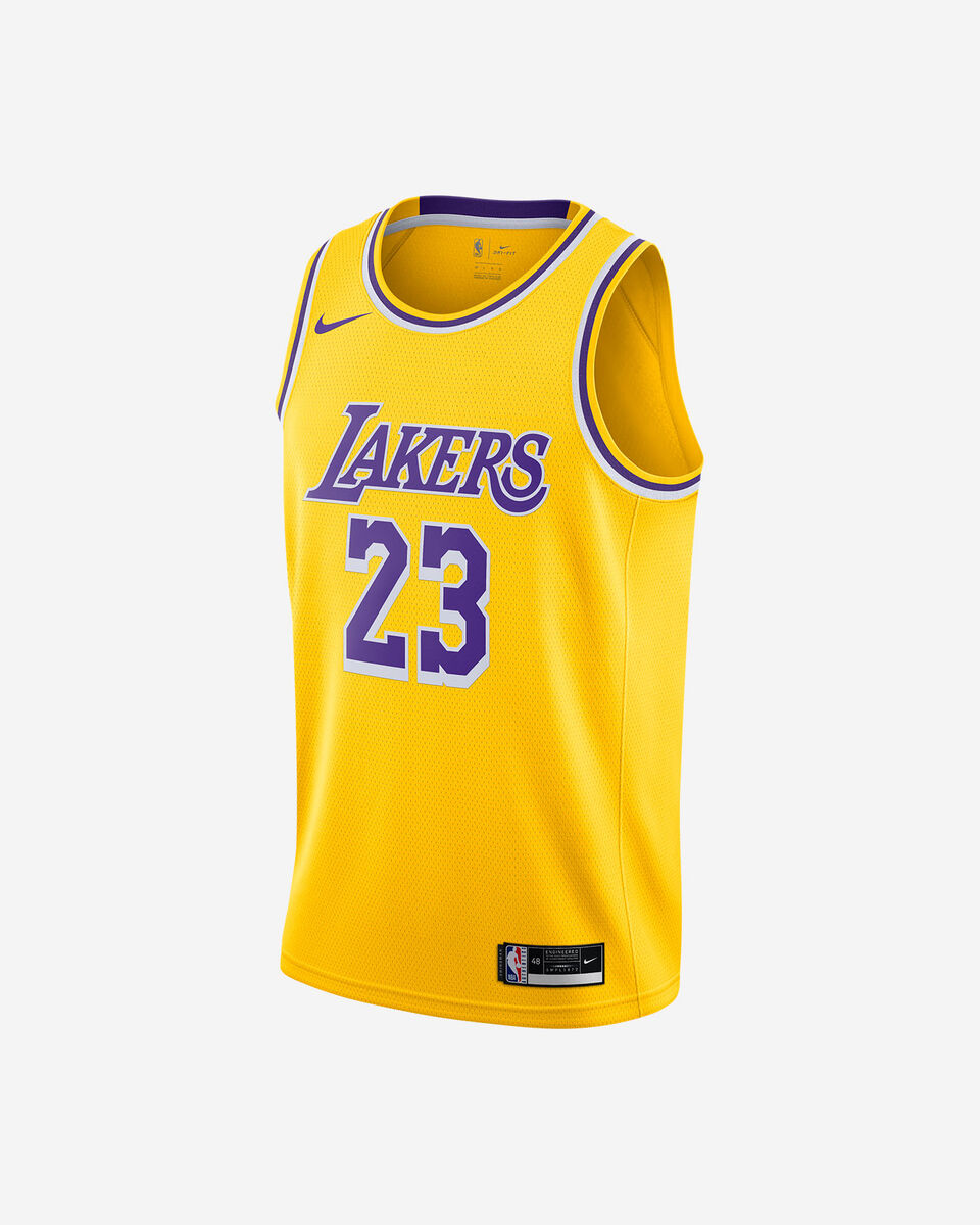 Canotta basket NIKE LEBRON JAMES LAKERS ICON EDITION 2020 M S5225873 scatto 0