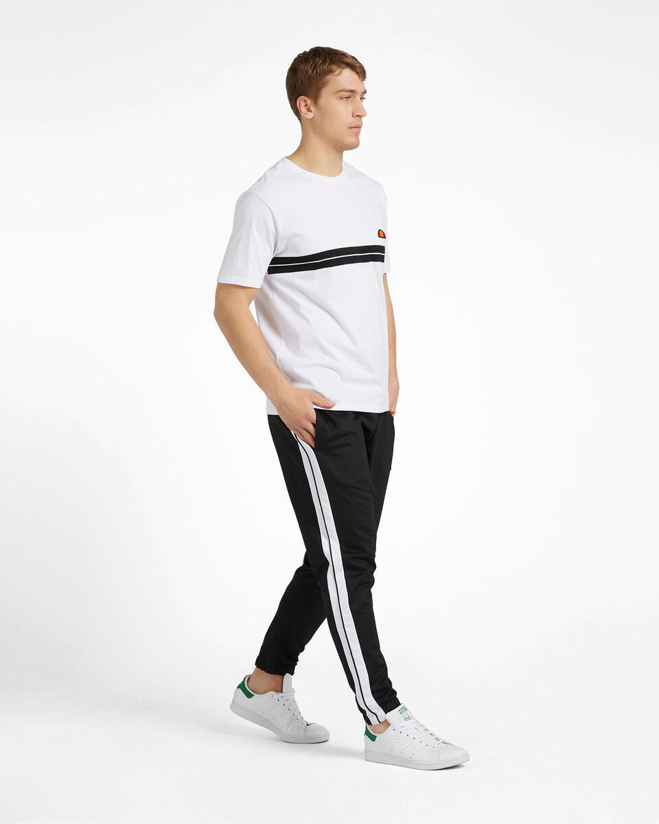 T-Shirt ELLESSE STRIPES M S4088418 scatto 3