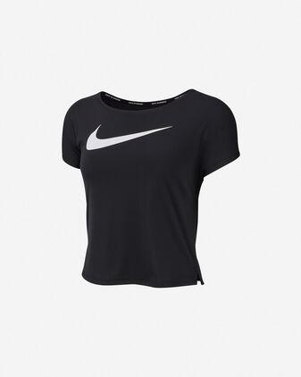 T-Shirt running NIKE SWOOSH RUN W