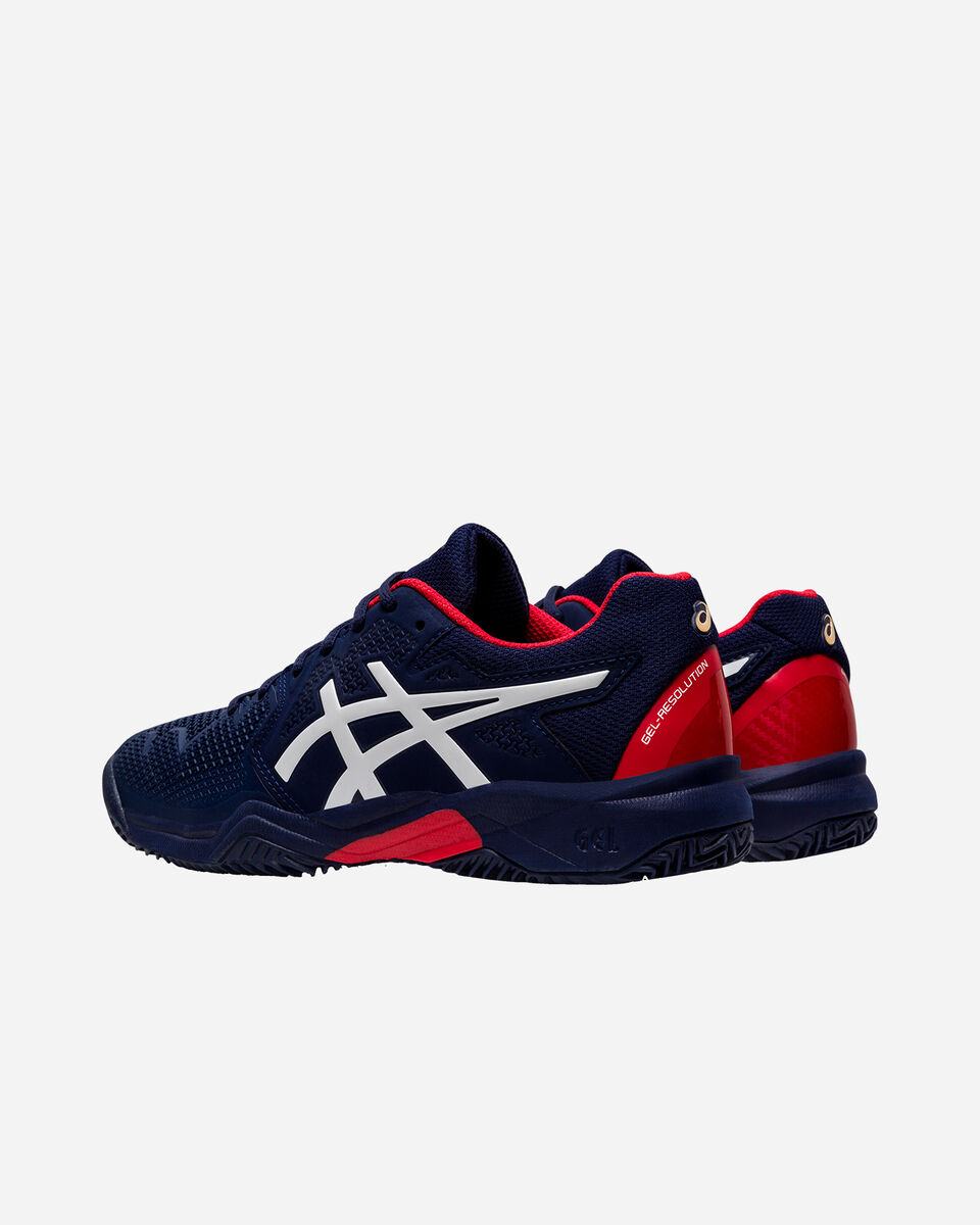 Scarpe tennis ASICS GEL RESOLUTION 8 CLAY GS JR S5159502 scatto 2