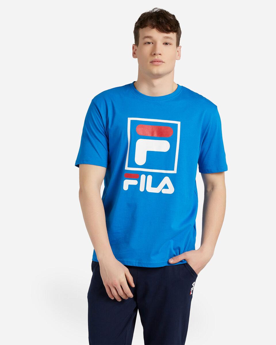 T-Shirt FILA LOGO VINTAGE M S4088402 scatto 0
