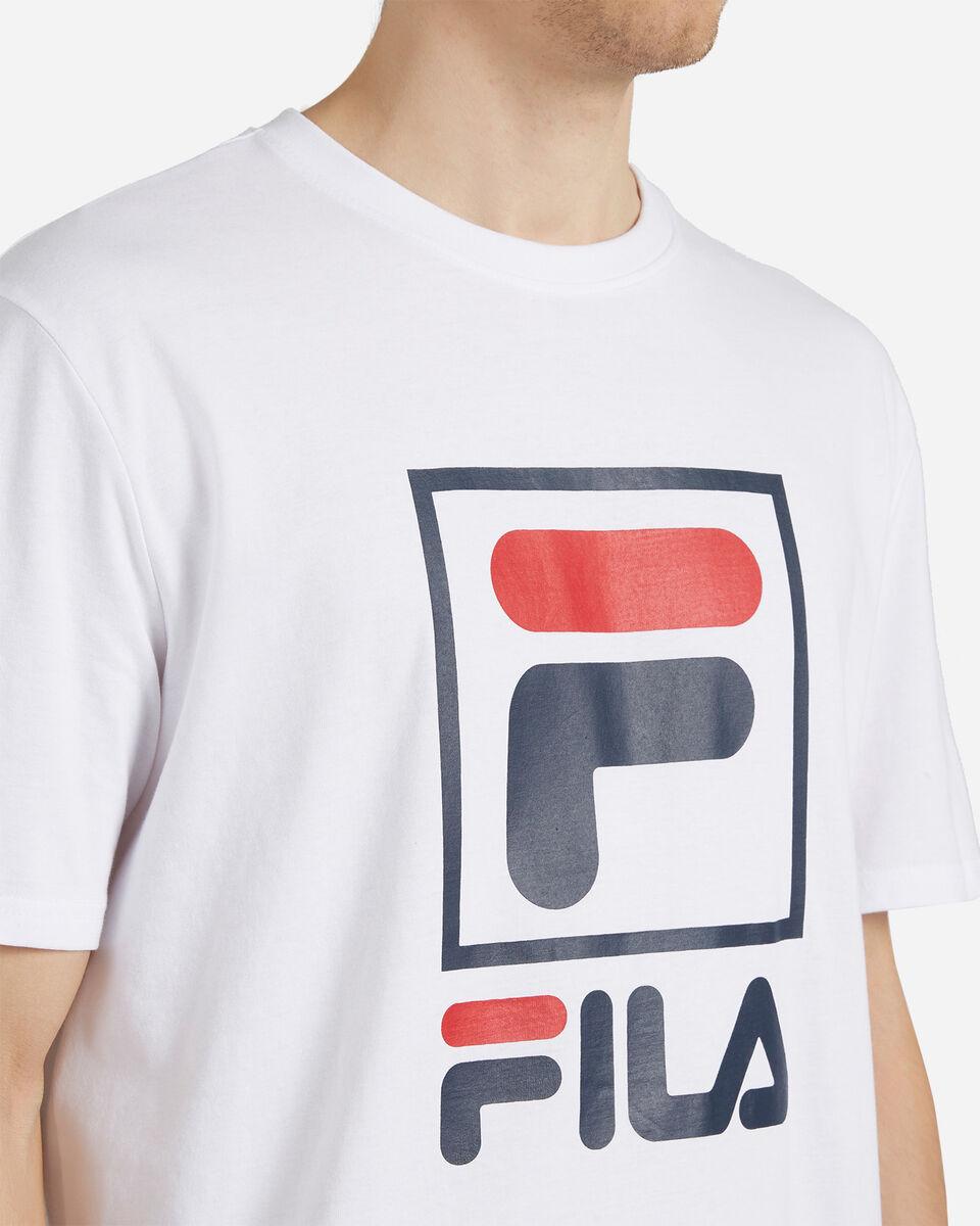 T-Shirt FILA LOGO VINTAGE M S4088402 scatto 4