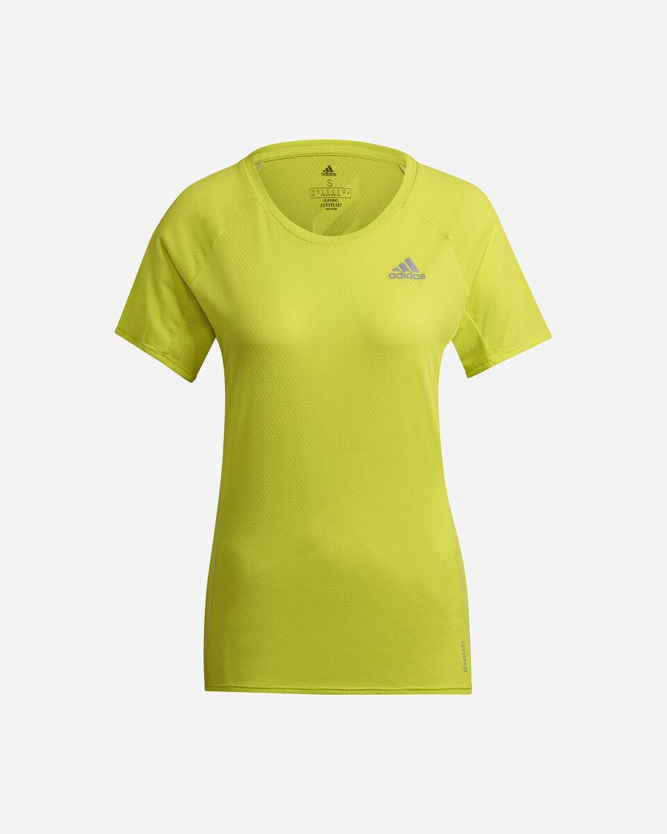 T-Shirt running ADIDAS RUNNER W S5273922 scatto 0