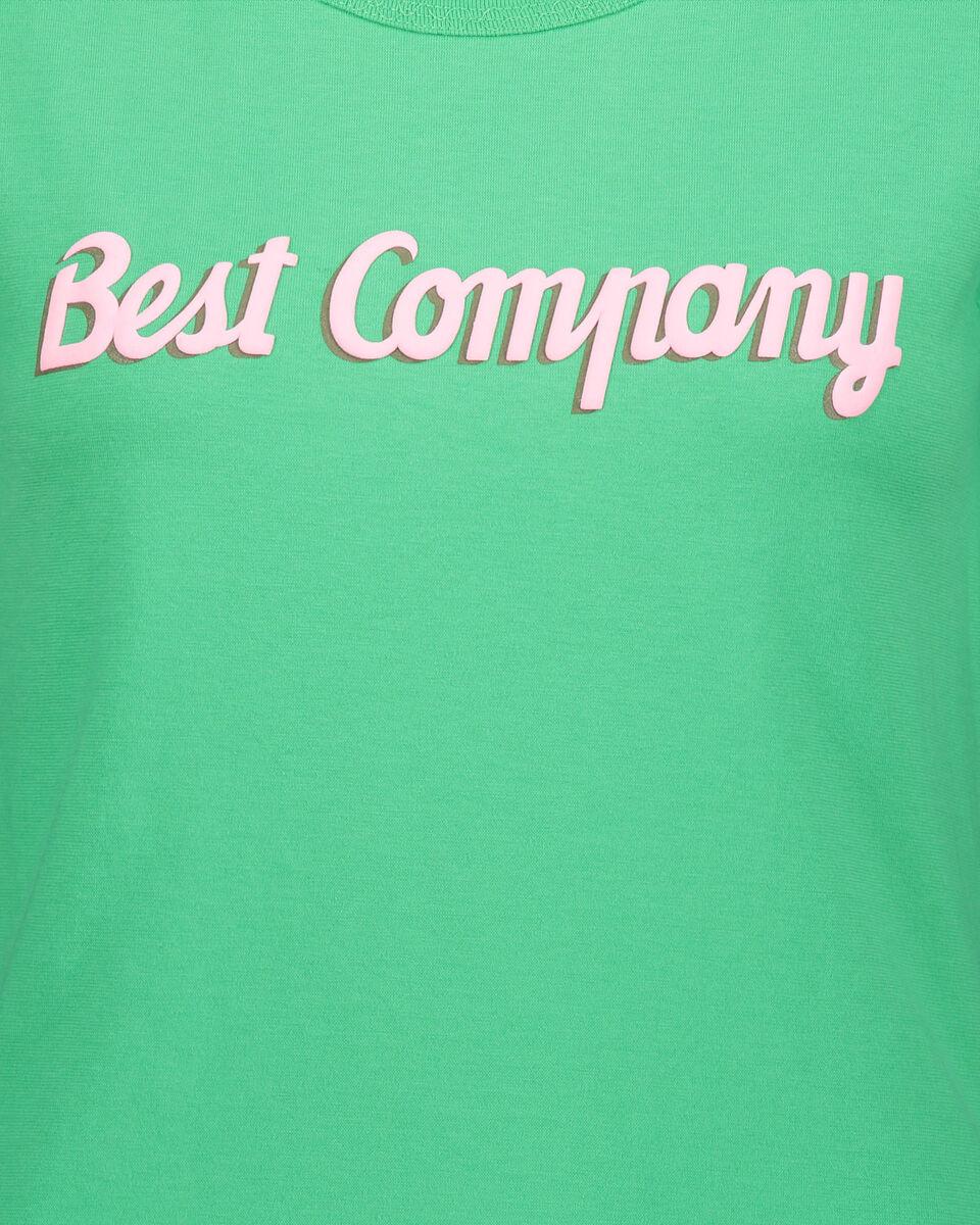 T-Shirt BEST COMPANY LOGO W S4085712 scatto 2