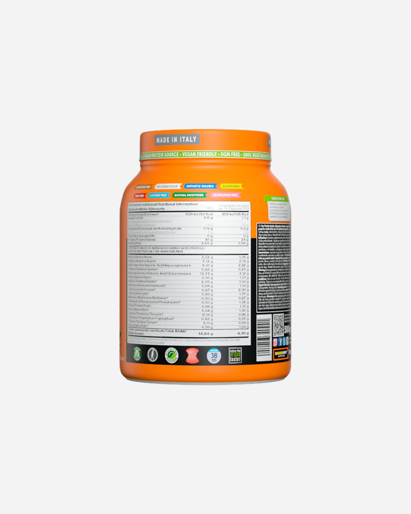 Energetico NAMED SPORT SOY PROTEIN ISOLATE DELICIOUS CHOCOCOLATE 500G S1320793|1|UNI scatto 3