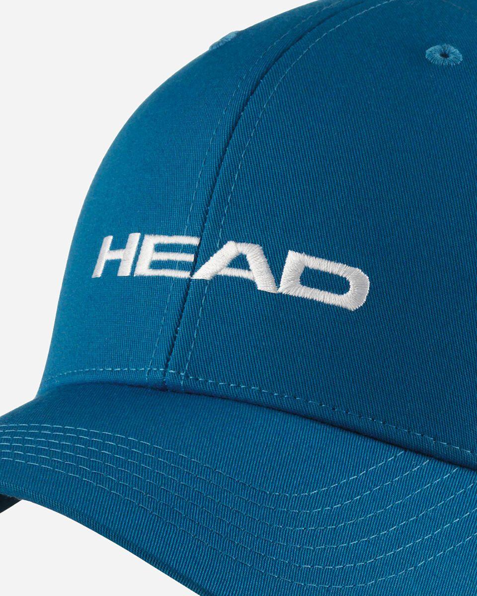 Cappellino HEAD PROMOTION S5221165 BL UNI scatto 1