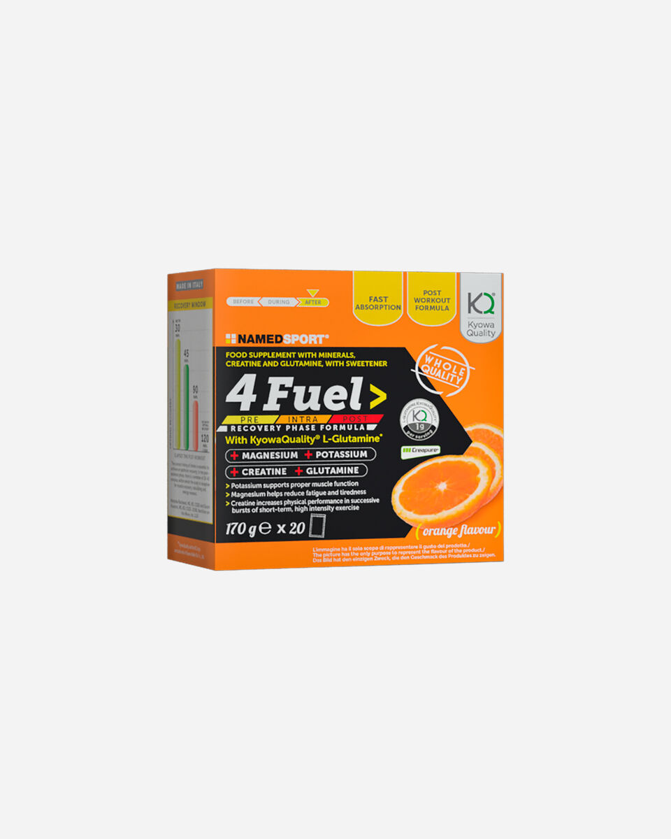 Energetico NAMED SPORT 4 FUEL IN POLVERE 20 BUSTINE 170G S1308840|1|UNI scatto 0