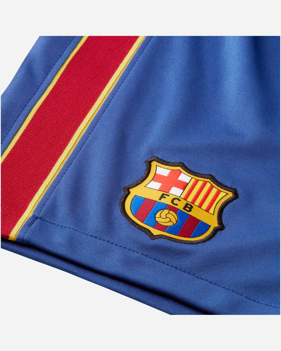 Pantaloncini calcio NIKE BARCELLONA HOME STADIUM 20/21 JR S5195472 scatto 3