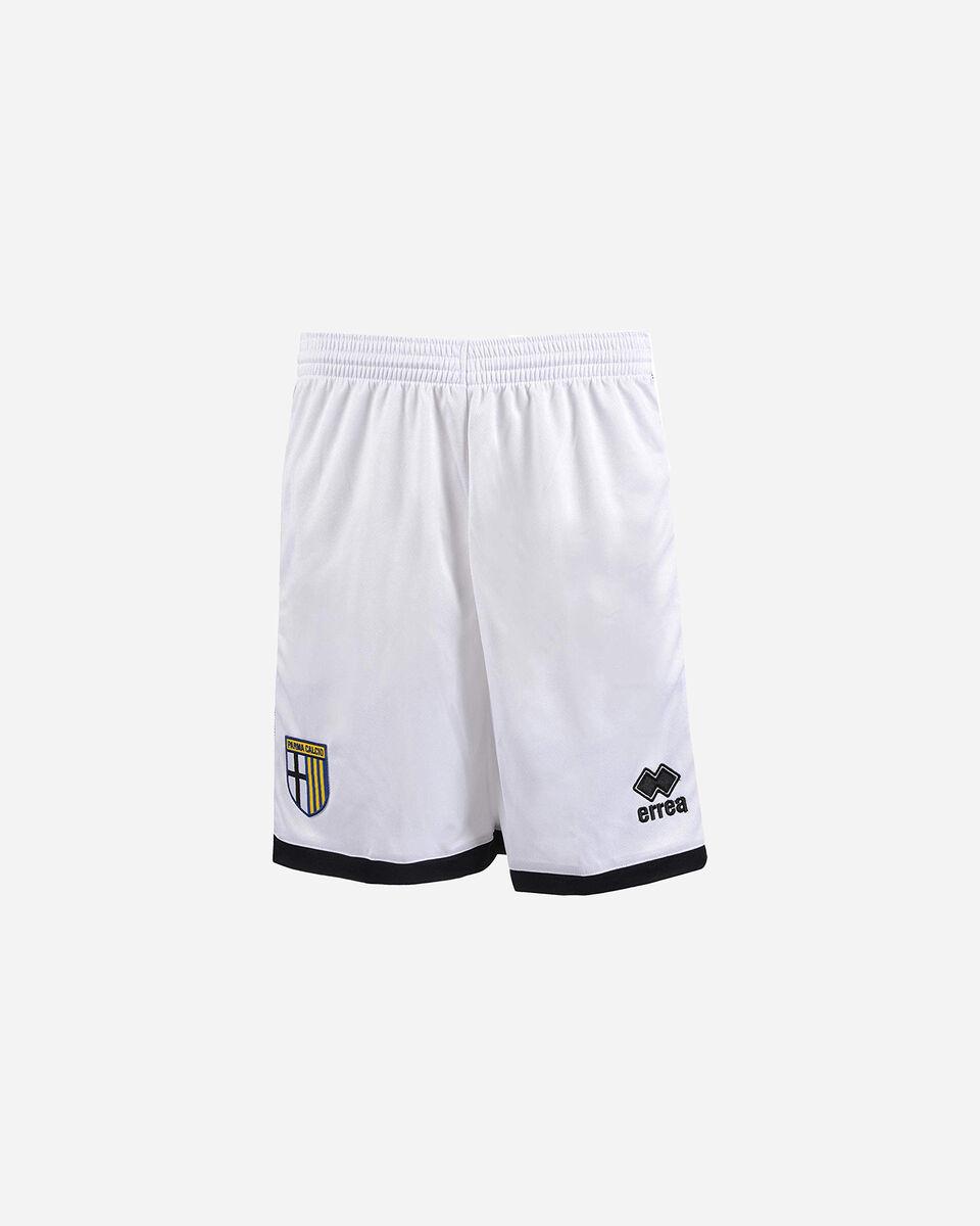 Pantaloncini calcio ERREA PARMA HOME 19-20 JR S4075871 scatto 0