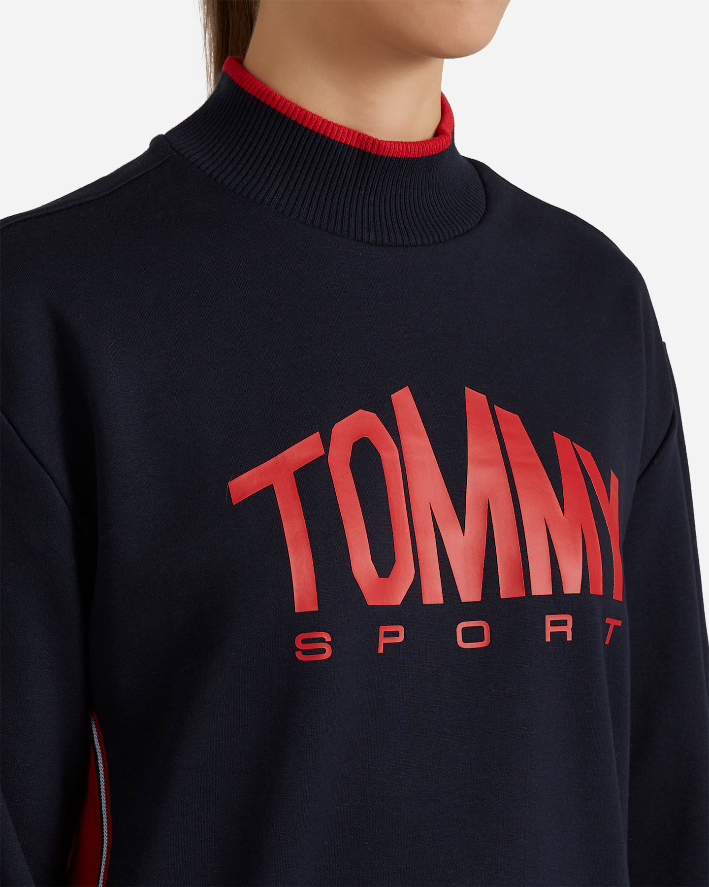 Felpa training TOMMY HILFIGER ICONS W S4082525 scatto 4