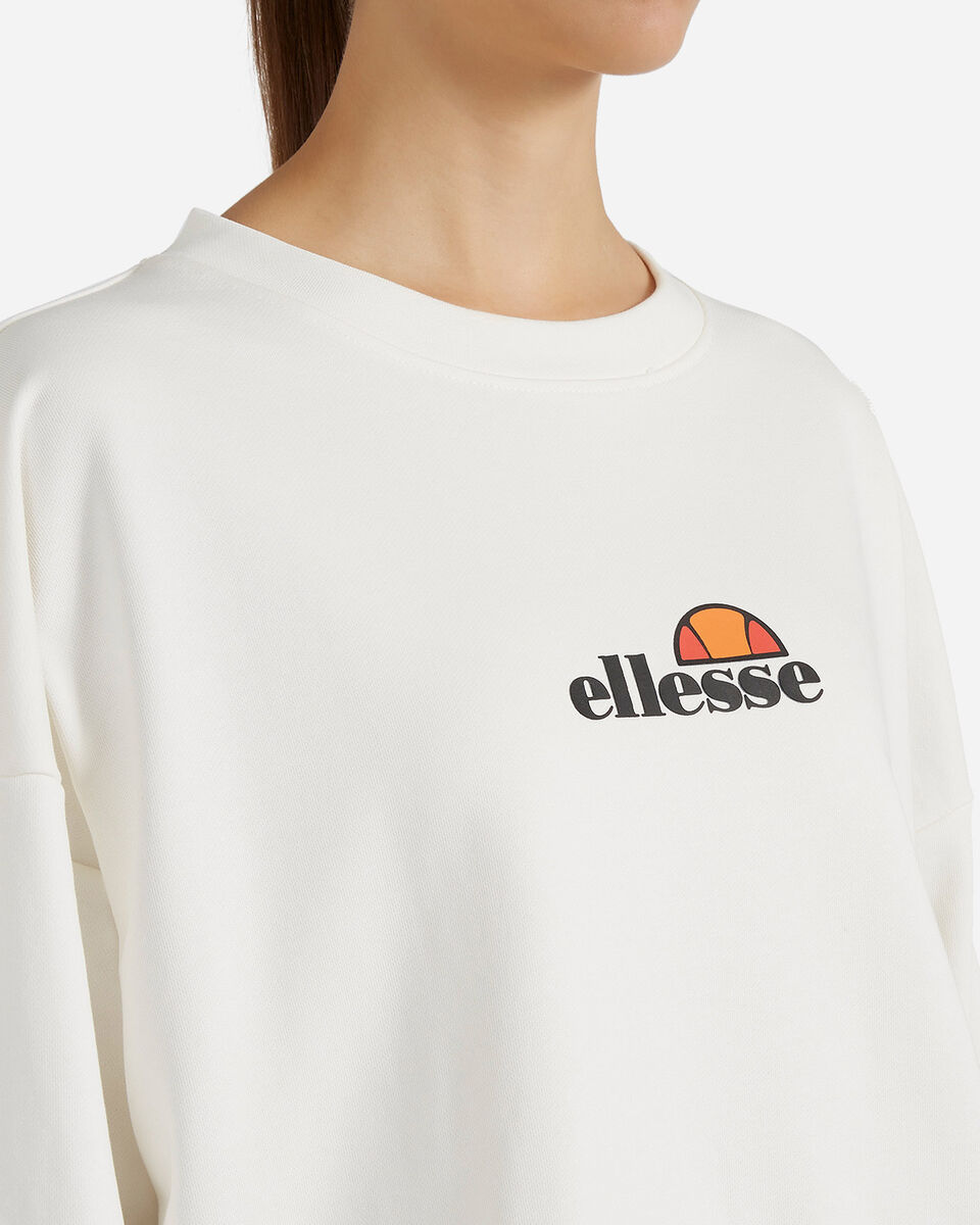 Felpa ELLESSE CROP W S4081240 scatto 4