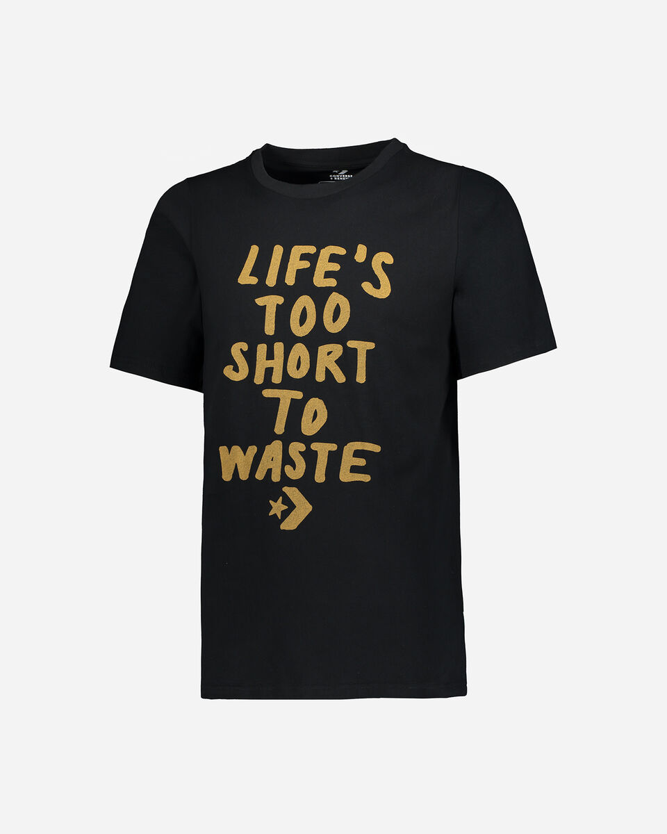 T-Shirt CONVERSE LIFE'S SHORT M S4068891 scatto 0