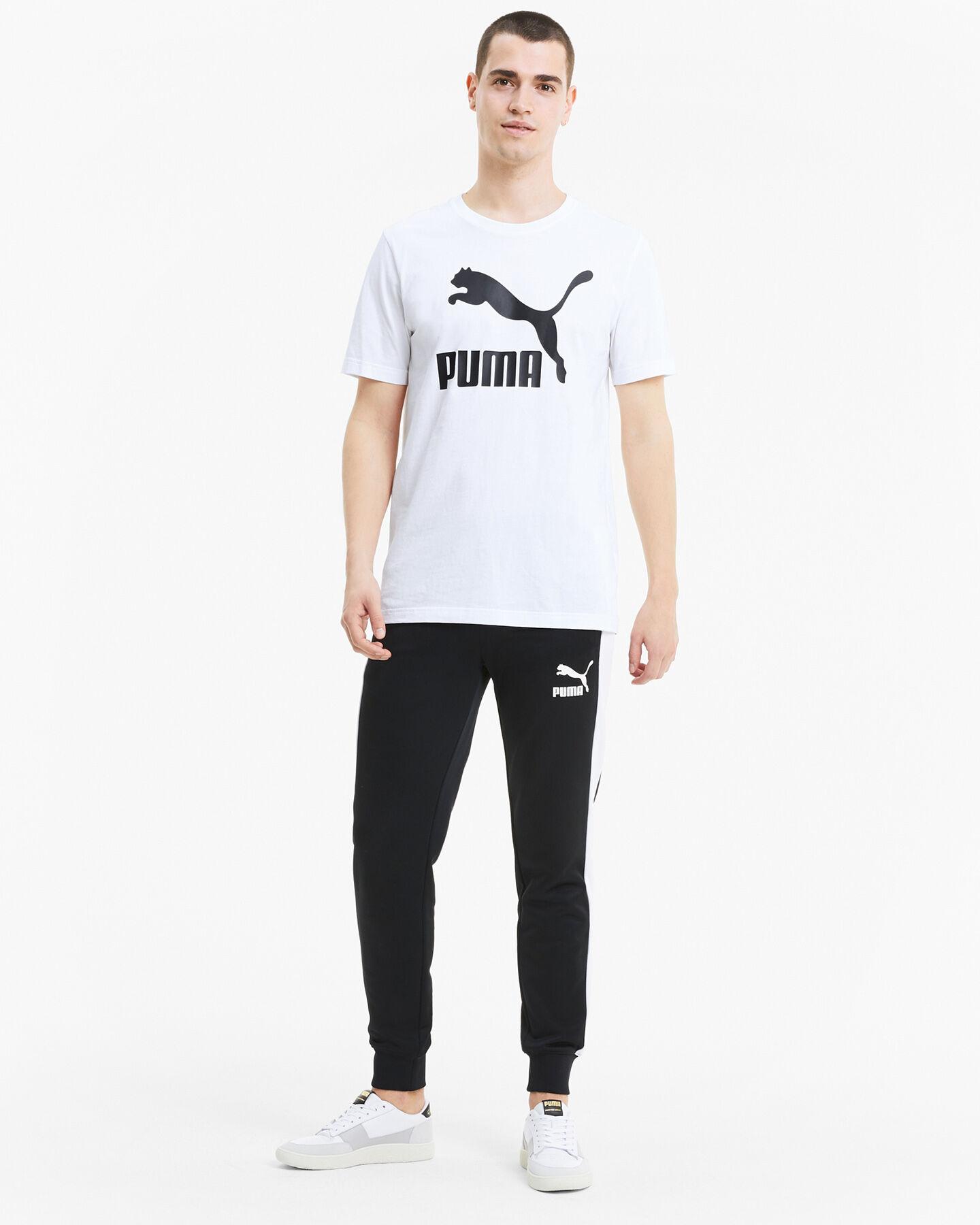 T-Shirt PUMA CLASSIC LOGO M S5235521 scatto 4