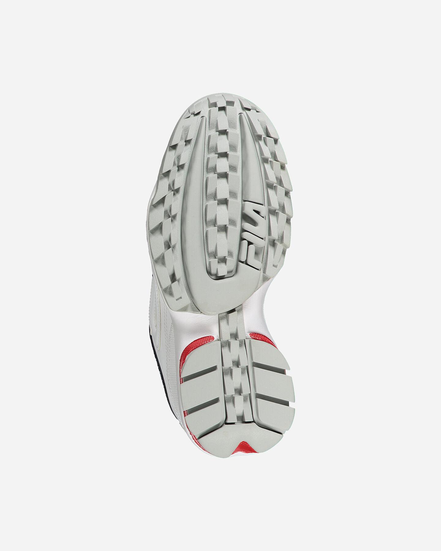 Scarpe sneakers FILA DISRUPTOR LOW W S4076625 scatto 2