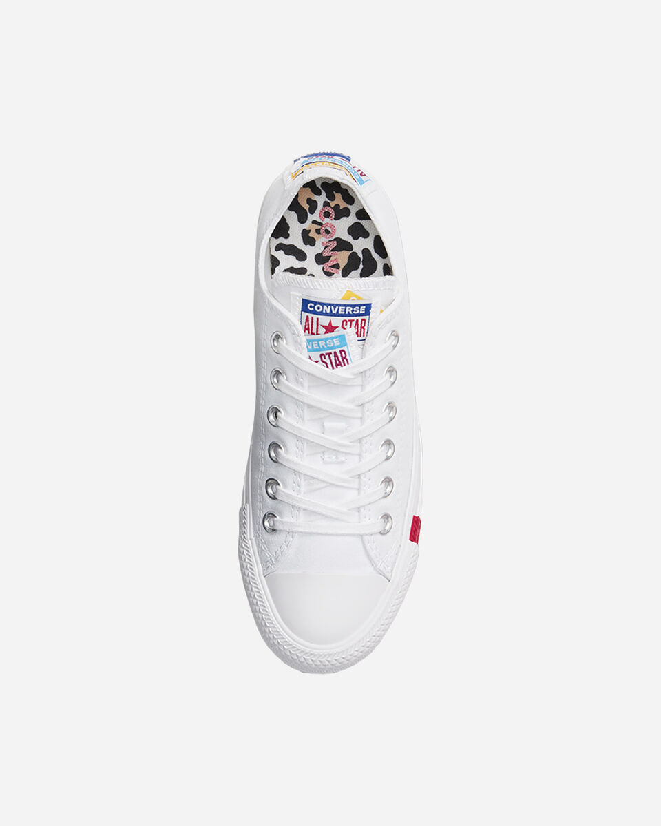 Scarpe sneakers CONVERSE CHUCK TAYLOR ALL STAR LOGO STACKED M S4074925 scatto 3
