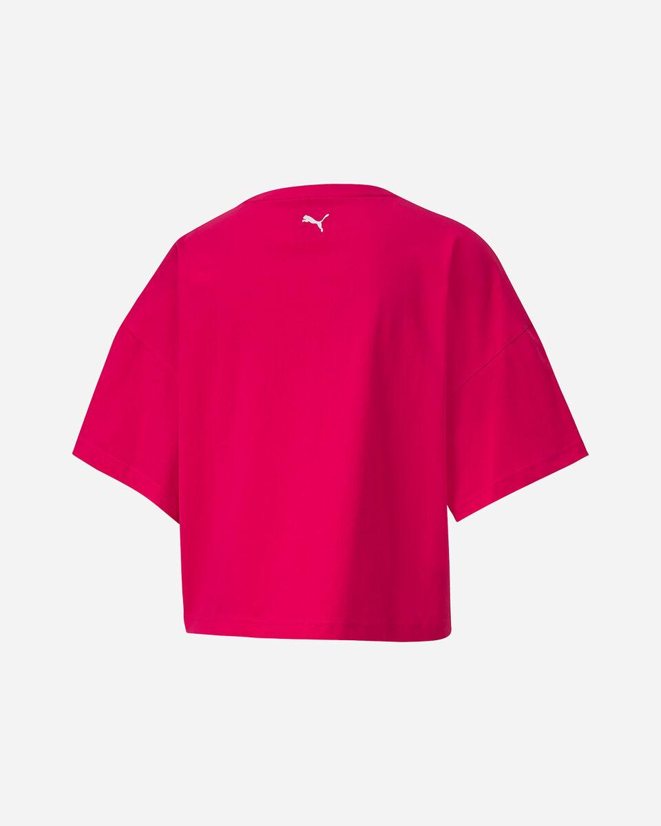 T-Shirt PUMA REBEL W S5172781 scatto 1