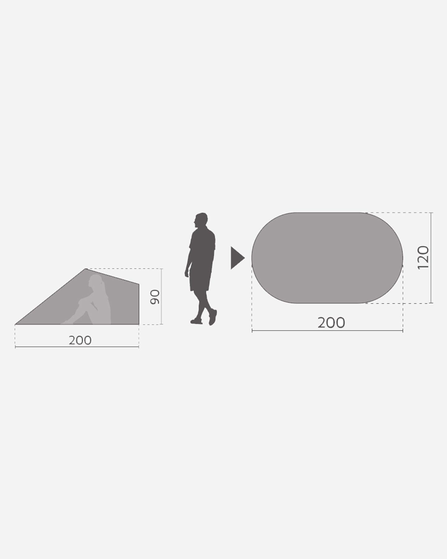 Tenda MCKINLEY BORA UV 40 S2000136 904 - scatto 2