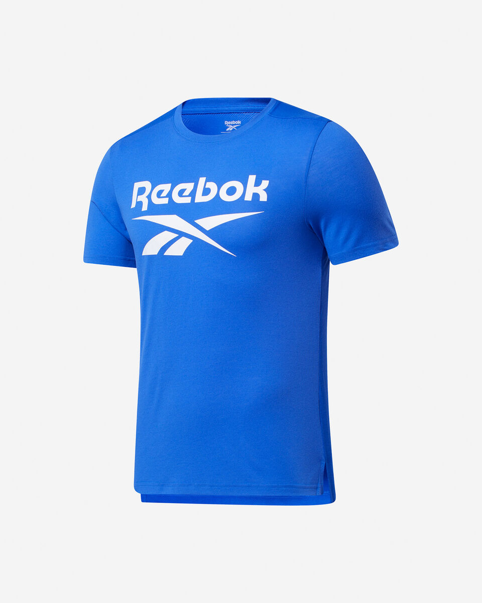 T-Shirt training REEBOK WORKOUT GRAPHIC M S5280252 scatto 0