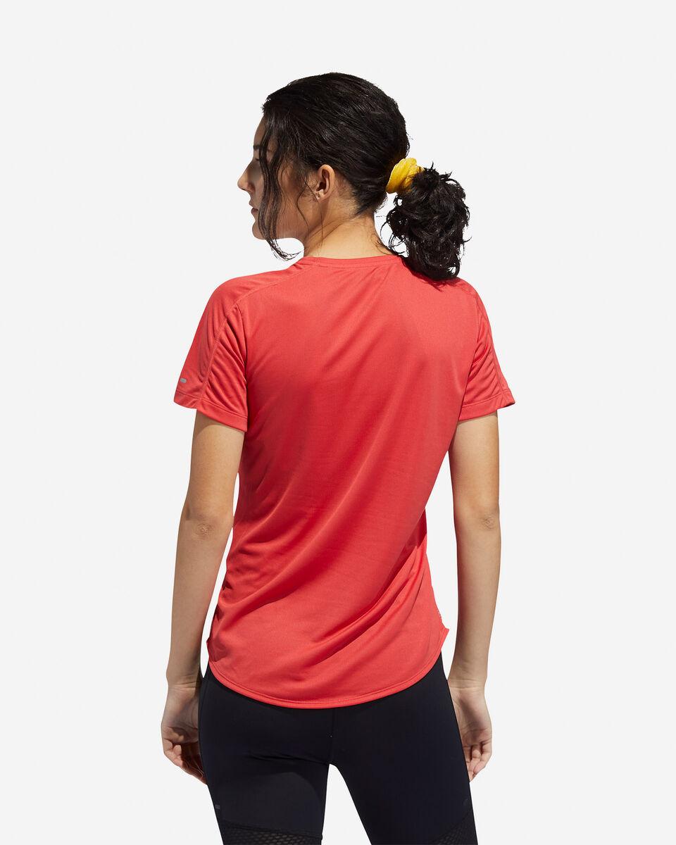 T-Shirt running ADIDAS RUN IT 3-STRIPES FAST W S5150018 scatto 4