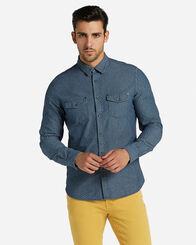 CAMICIE uomo COTTON BELT DENIM M