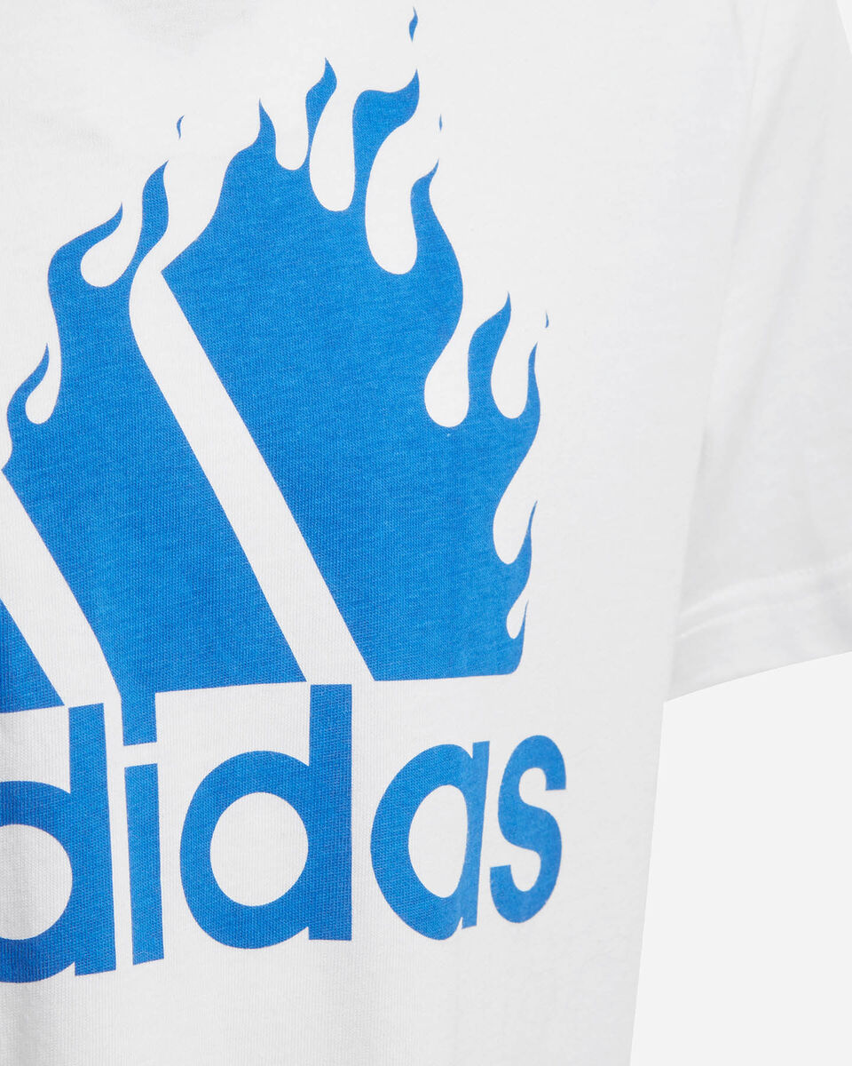 T-Shirt ADIDAS GRAPHIC JR S5211507 scatto 3