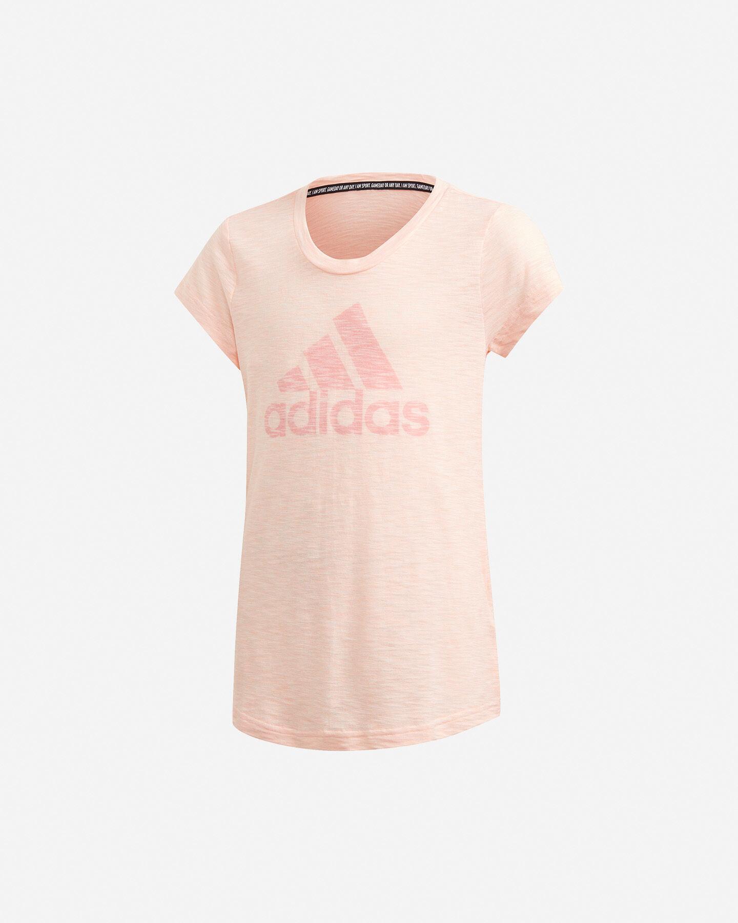 T-Shirt ADIDAS BIG LOGO JR S5216873 scatto 0